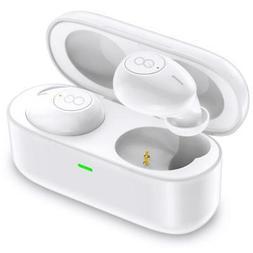 true wireless earbuds deep bass mini in