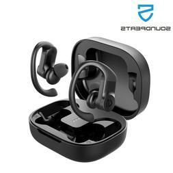 true wireless earbuds over ear hooks bluetooth