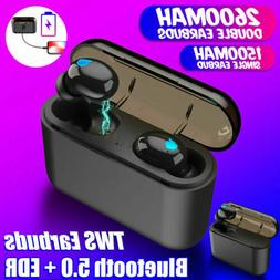Truely Wireless Bluetooth 5.0 Earbuds Stereo TWS Bluetooth H