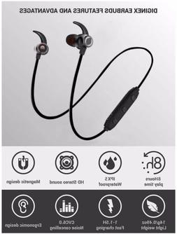 TT-BH16 In-Ear Headphones 12  Black Eartips Earbuds for TAO TRONICS TT-BH07