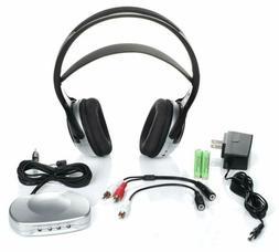 Tv Listener J3 Rechargeable Wireless Headphones for Tv Liste