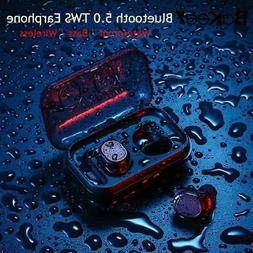 TWS-8 Bluetooth 5.0 Sports Waterproof Ear Hook Wireless Head