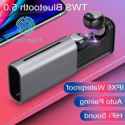 tws bluetooth 5 0 headset wireless ipx6