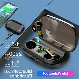 TWS Earbuds Bluetooth Headset Wireless Earphones Stereo In E