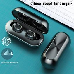 TWS Mini Bluetooth <font><b>Wireless</b></font> Earphones 5.