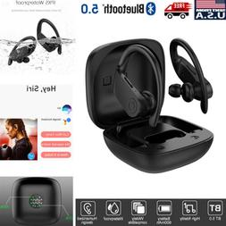 TWS True Wireless Stereo Bluetooth 5.0 Earbuds Earphone Ear