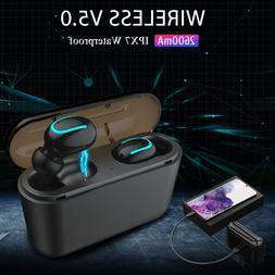 TWS Wireless 5.0 Earbuds Earphones Stereo Headphones Headset