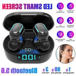 TWS Wireless Earbuds Bluetooth 5.0 Headphones Earphone Heads