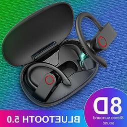 TWS Wireless Earbuds Bluetooth 5.0 Headset Earphones Stereo