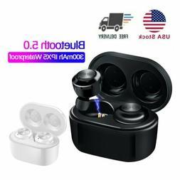 TWS Wireless Earphones Bluetooth 5.0 Earbuds Stereo Headset