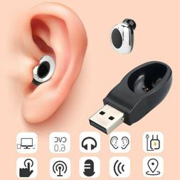 usb mini wireless bluetooth earbuds in ear