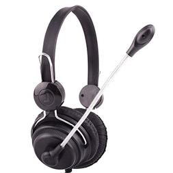 Sodoop USB Stereo PC Gaming Headset Wired Headphone with Mic