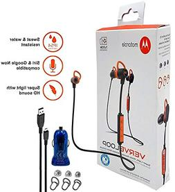 Motorola VerveLoop HD Wireless - Sweat & Water Resistant Ste