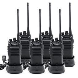 Winmoom walkie talkies long range rechargeable 6 pack Two-Wa