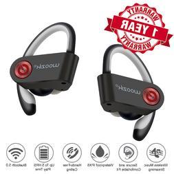 Waterproof Bluetooth  Earbuds Headphones Wireless Headset No