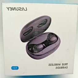 Lasuney Waterproof Bluetooth 5.0 True Wireless Earbuds, 35H