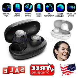 Waterproof Bluetooth 5.0 Wireless Earbuds Stereo Bass Headse
