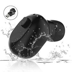 Waterproof Bluetooth Earbud, RedPepper Mini Wireless Headpho