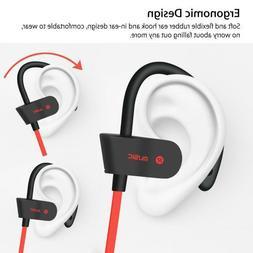 Waterproof Bluetooth Earbuds Sports Wireless Headphones in E
