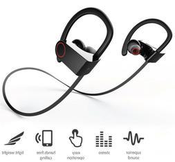 Waterproof Bluetooth Earbuds Wireless Earphones Beats Gym Ru