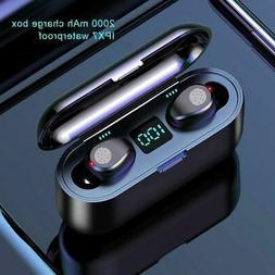 Waterproof TWS Bluetooth 5.0 Earbuds Headphones Wireless sma