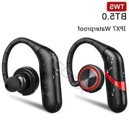 Waterproof Wireless Earbud BT5.0 Headphone TWS Sport Earpiec