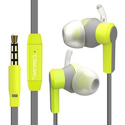 Wired headphones, Noise Isolating Sweatproof Wired 3.5MM in