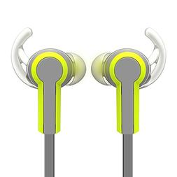 Wired In-Ear Sport Dual Earbuds Noise Isolating Sweatproof W