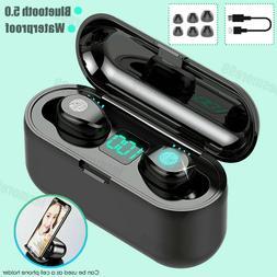Wireless Bluetooth 5.0 Earbud Headphone Headset Noise Cancel