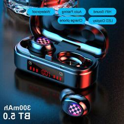 Wireless Bluetooth 5.0 Earphone Earbuds Sports Headsets In-E