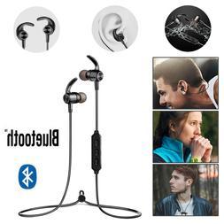 Wireless Bluetooth 5.0 Earphone Sports Headset Bass Stereo E