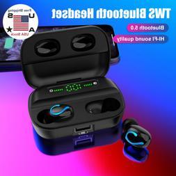 Wireless Bluetooth 5.0 Earphones Headphones TWS Earbuds Wate