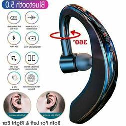 Wireless Bluetooth 5.0 Earpiece Headset Driving Trucker Earb