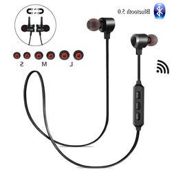 Wireless Bluetooth 5.0 Headphones Earbuds Earphones Sports H