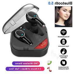 Wireless Bluetooth 5.0 Headphones Earbuds Stereo Headset In-