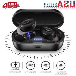 Wireless Bluetooth 5.0 Headset TWS Earphones Earbuds Stereo
