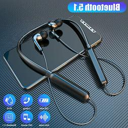 Wireless Bluetooth 5.0 Noise Cancelling Headset Earpiece Ste