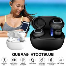 Wireless Headset Bluetooth Earbuds In Ear HiFi Stereo Headph