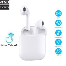 wireless bluetooth earbuds touch headphones earpods