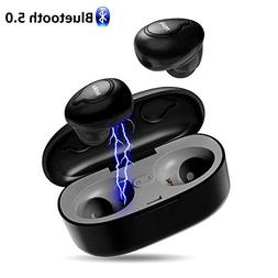 Wireless Bluetooth Earbuds, iyesku YK-T02 Bluetooth 5.0 True