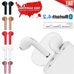 Wireless Bluetooth Earphones Headphones Earbuds For Apple iP