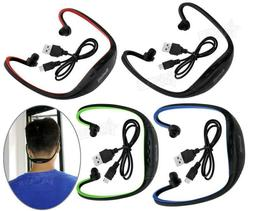 Wireless Bluetooth Handsfree mic Neck Earbuds Earphones head