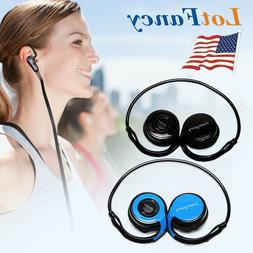 Wireless Bluetooth Headphone Earbuds Headset Stereo In-Ear M