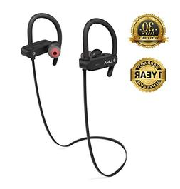 Wireless Bluetooth Headphones with Microphone, | IPX7 Waterp
