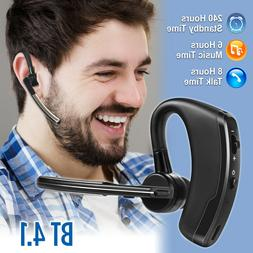 wireless bluetooth noise cancelling trucker headset earpiece
