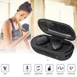 Wireless Bluetooth Stereo Earbuds Headset Earphone headphone