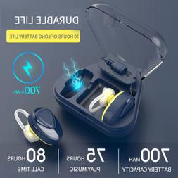 Wireless Dual Mini True Bluetooth Earbuds Stereo Earphone In