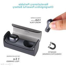 Wireless Earbud, QCY Q29 Mini Dual V4.1 Bluetooth Headphones