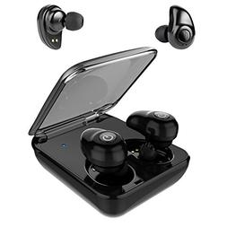 True Wireless Earbuds,Bluetooth Headphones with 2000mAh Char
