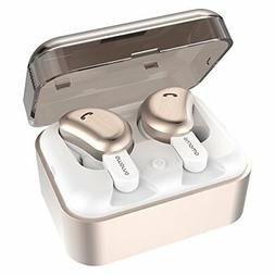Wireless Earbuds, AMORNO True Bluetooth Headphones in-Ear De
